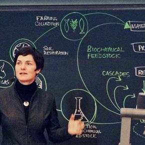 Film från Ellen MacArthurs besök i Stockholm