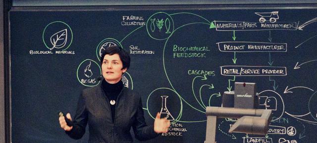 Ellen MacArthur i Stockholm